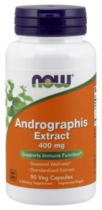 Andrographis Extract 400 mg 90 kapsułek Veg NOW Food's Suplement Diety